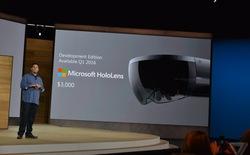 Kính thực tại ảo HoloLens có giá hơn 67 triệu đồng, lên kệ vào năm sau