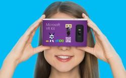 Microsoft giới thiệu VR Kit, cạnh tranh trực tiếp với Google Cardboard
