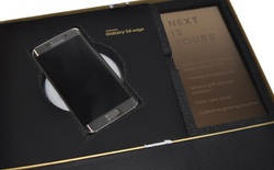 Chiêm ngưỡng Galaxy S6 edge phiên bản Gold Platinum 128GB giá 170 triệu đồng