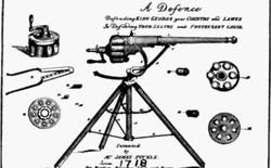 Ngày 15/5: Luật sư người Anh chế tạo khẩu súng máy đầu tiên trên thế giới
