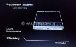 BlackBerry Dallas sẽ là phiên bản Passport Silver Editon