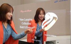"""Samsung trình làng màn OLED """"gương kia ngự ở trên tường"""""""