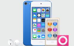 Rò rỉ iPod thế hệ mới: thêm 3 màu xanh dương, vàng và hồng
