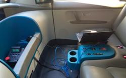 Khám phá nội thất bên trong xe tự lái của Google