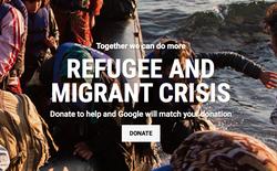 Google công bố chiến dịch ủng hộ người tị nạn với số tiền quyên góp 11 triệu USD