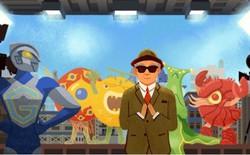 Google cho bạn làm phim trên doodle, kỷ niệm ngày sinh người tạo ra Godzilla và Ultraman