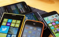 Tuyển tập những smartphone khủng đón Tết Ất Mùi