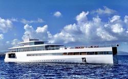 Chiêm ngưỡng siêu du thuyền do Steve Jobs thiết kế trước khi mất