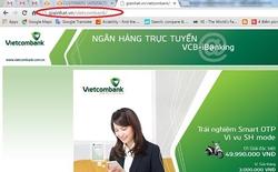 Bóc trần chiêu lừa tiền tinh vi qua website giả danh ngân hàng Vietcombank