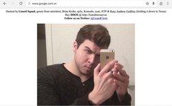 """Tới lượt """"ông"""" Google của Việt Nam cũng bị tấn công, thủ phạm là Lizard Squad?"""