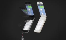 """Ngắm ý tưởng iPhone... nắp gập cực """"quái"""""""