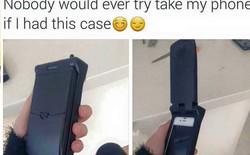 Không ai muốn cuỗm điện thoại của bạn nếu dùng vỏ case này