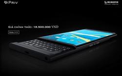 BlackBerry Priv có giá chính hãng 18,5 triệu đồng tại Việt Nam