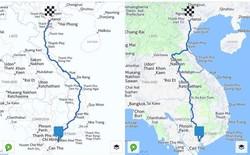 Đi ô tô với HERE Maps từ TP.HCM ra Hà Nội cũng phải qua... 3 quốc gia