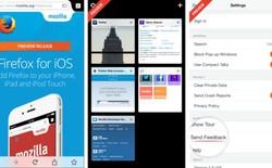 Firefox lần đầu tiên đặt chân lên hệ điều hành iOS