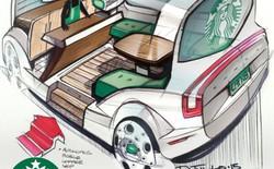 Xe tự lái bán cafe, bánh dạo sẽ xuất hiện trong tương lai