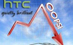 """Cổ phiếu HTC """"lao dốc"""" kể từ ngày giới thiệu HTC One M9"""