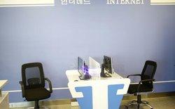 """""""Phòng Internet"""" ở Triều Tiên nay đã có Internet!"""