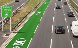 """Xe điện ở Anh sẽ có làn đường riêng kiêm chức năng """"vừa đi vừa sạc"""""""