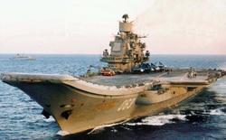 """""""Đô đốc Kuznetsov"""" - hàng không mẫu hạm duy nhất của Nga còn hoạt động"""