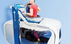 Máy chạy bộ có khả năng giảm tới 80% trọng lượng của người sử dụng