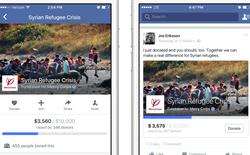Facebook đang thử nghiệm tính năng quyên góp từ thiện