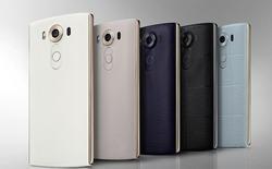 Điện thoại LG V10 với màn hình phụ độc đáo chính thức ra mắt