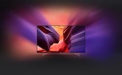 Philips ra mắt TV 4K có khả năng mở rộng ra bức tường phía sau