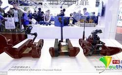 Cảnh sát Trung Quốc nhờ cậy robot để chống khủng bố