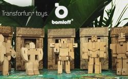 Chiêm ngưỡng bộ đồ chơi Transformers bằng gỗ cực ấn tượng