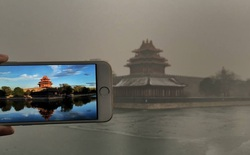 Sự khác biệt của Bắc Kinh trước và sau khi bị nhấn chìm trong khói bụi ô nhiễm