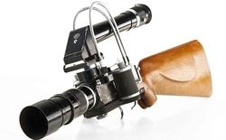 """Bản mẫu máy ảnh Leica dạng súng bắn tỉa """"độc nhất vô nhị"""" chuẩn bị được đấu giá"""
