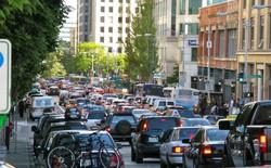 Bức hình chứng minh ô tô là nguyên nhân tắc đường