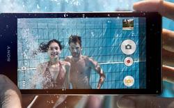Sony quảng cáo smartphone chụp ảnh dưới nước nhưng... xin người dùng đừng thử!