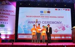 Lần đầu tiên Việt Nam Vô địch tại một điểm thi lập trình sinh viên ACM/ICPC châu Á