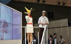 Nhật Bản ra mắt drone chim làm bằng giấy, hoạt động như chim thật