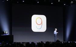 iOS 9 ra mắt: Siri thông minh hơn, Apple Maps cải tiến, iPad Air 2 chia đôi màn hình
