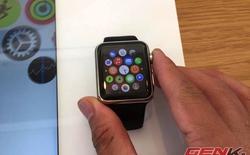 Cận cảnh bộ đôi Apple Watch và MacBook 12 inch tại Apple Store