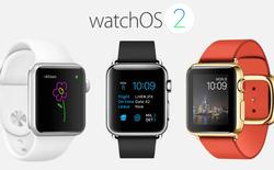 """Apple chính thức phát hành watchOS 2, """"bà bầu"""" nên cập nhật ngay"""