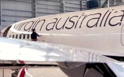 """[Video] Cùng ngắm máy bay Boeing 737 của Virgin Australia được sơn lại theo cách """"thủ công"""""""