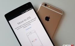 Hướng dẫn chi tiết cách chuyển dữ liệu từ Android sang iOS với ứng dụng từ Apple