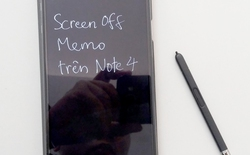 Đem tính năng hay nhất Screen Off Memo của Galaxy Note 5 lên các dòng Note khác