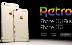 Cùng xem bộ đôi iPhone 6S/ 6S Plus đầy hoài cổ với phong cách Retro của thập niên 80
