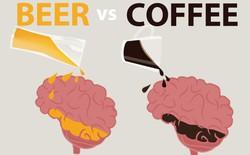 Bia và Cafe ảnh hưởng tới não của bạn như thế nào?
