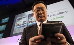 CEO John Chen: Blackberry không phải để bán khi... chưa được giá!