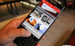 Cận cảnh BlackBerry Priv, điện thoại đầu tiên chạy Android của BlackBerry