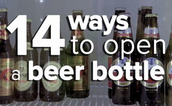 [Video] Mách bạn những chiêu thú vị giúp mở nắp chai mọi lúc, mọi nơi