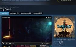 ToyQuest - Game Việt đầu tiên góp mặt trên Steam Greenlight
