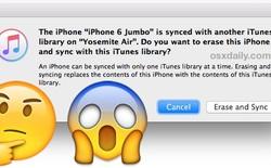 Tìm hiểu về thông báo đồng bộ khiến người dùng iPhone, iPad thót tim