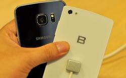 Đọ dáng siêu phẩm BPhone và Galaxy S6 edge